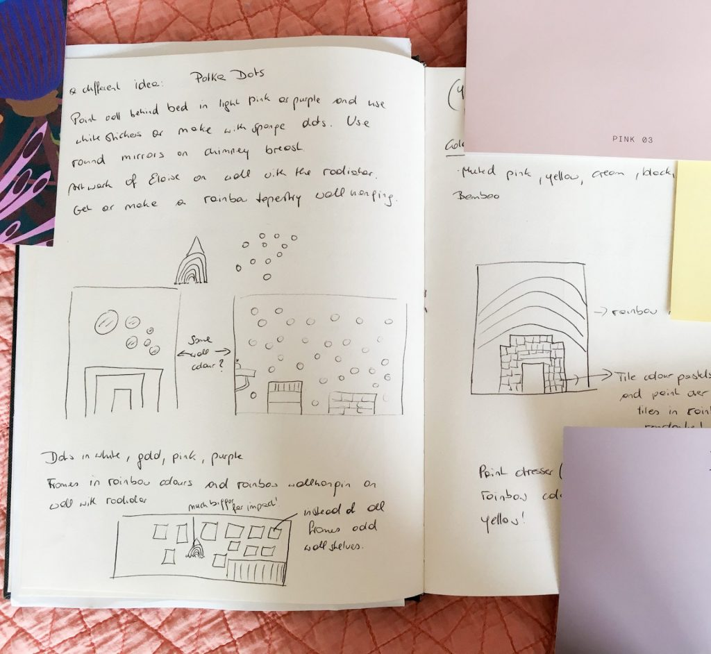 Child's bedroom sketch1