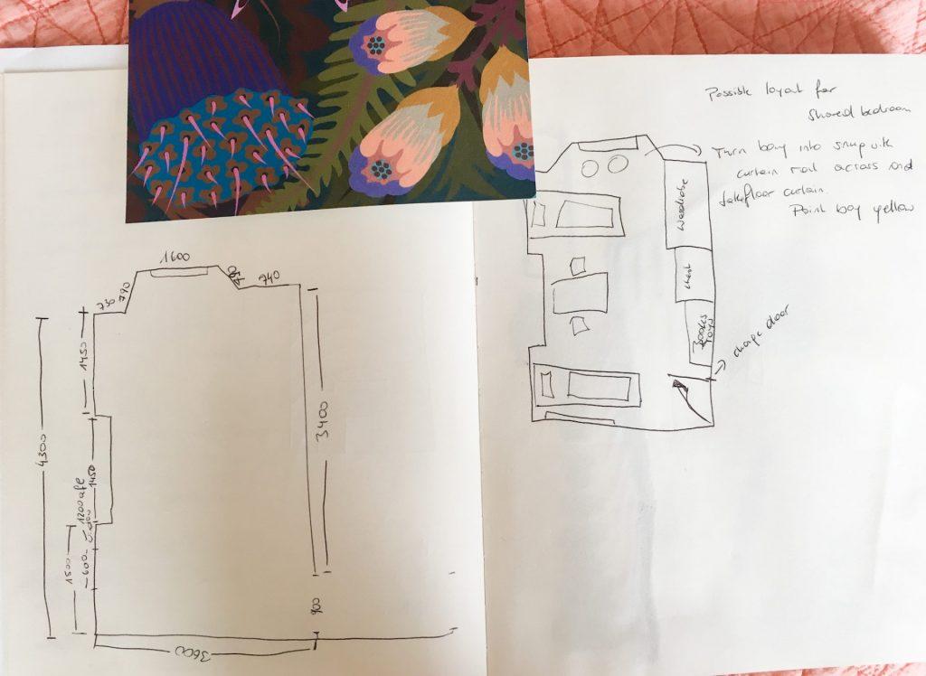 Child's bedroom sketch2