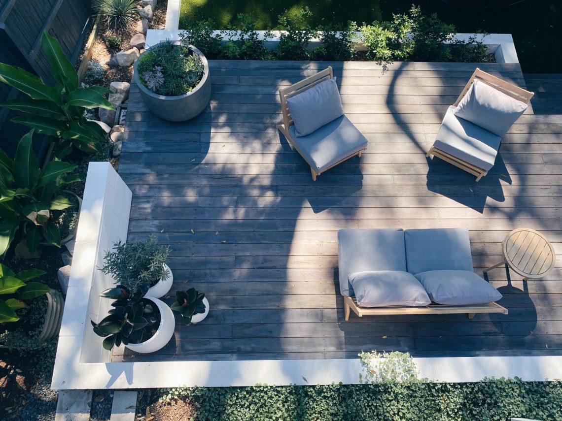 Decking terrace