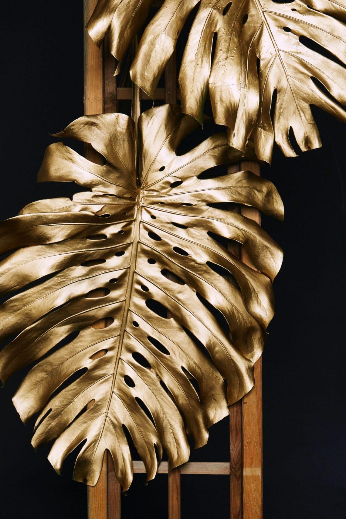 Luxury gold leaf